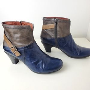 Hispanitas made in spain leather boots size 6.5